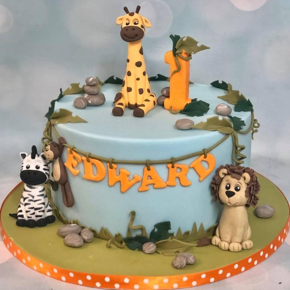 Jungle Safari Cake