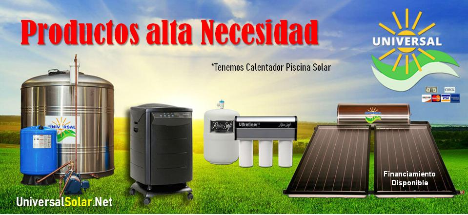 Productos Universal Solar en Puerto Rico