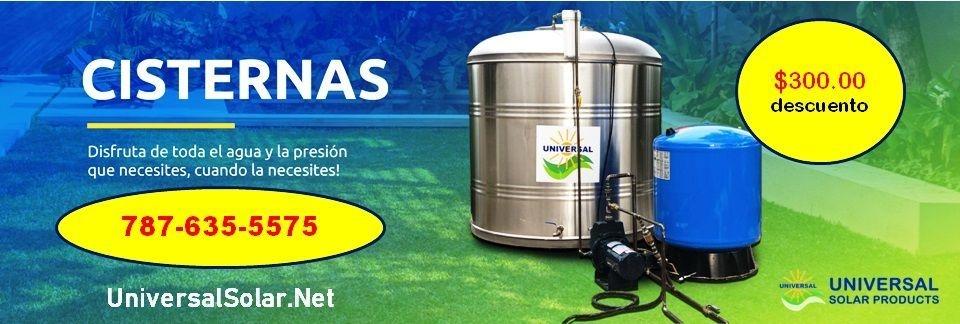 Tanques de Agua $300 bono