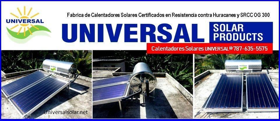 Calentador Solar Blue Forest