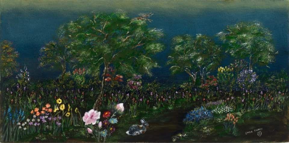 Sunrise, Flowers, Walk, Stroll, Path, Summer, Spring, Bunny, Rabbit, Morning
