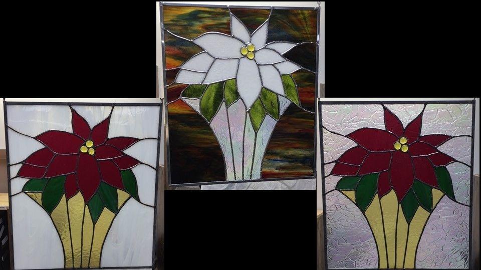 Poinsettia theme custom panels