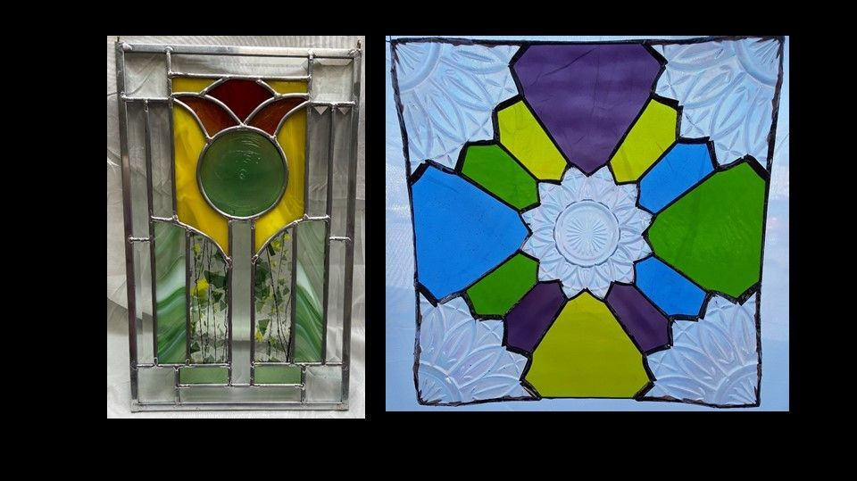 Prairie Panel and Glassware designs