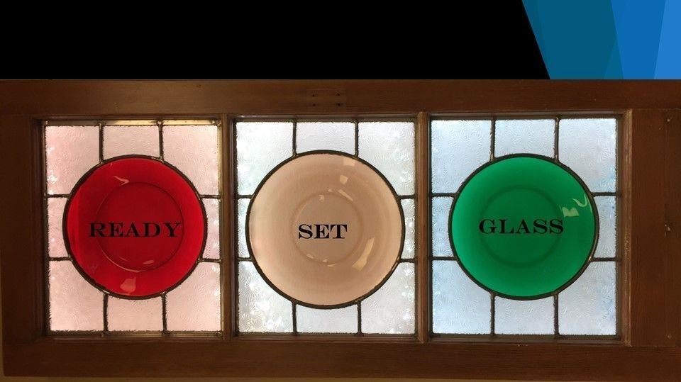 Ready, Set, Glass Logo