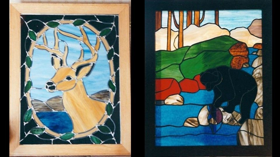Deer panel and Bear Panel