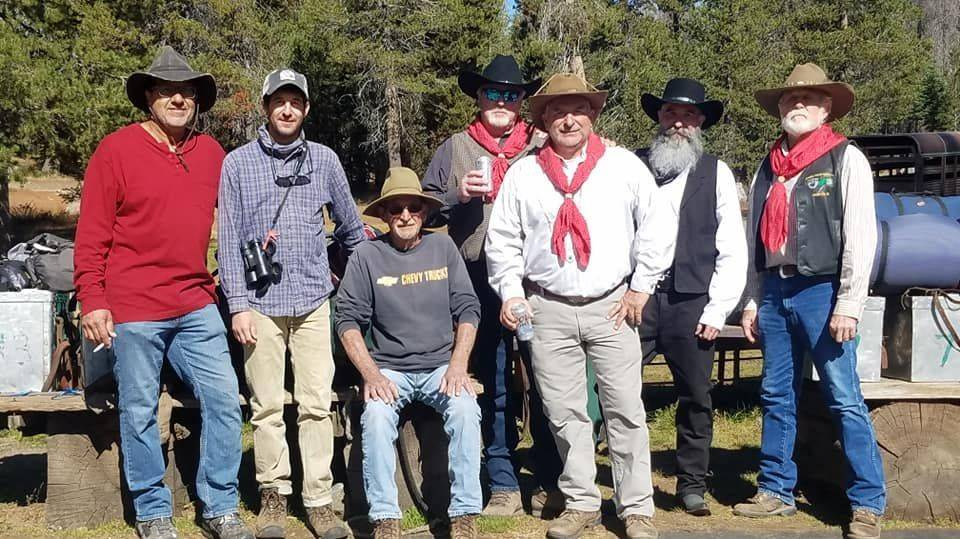 I have to say, our family loves this group of guests.  They are hunters, anglers, campers, riders, glampers, eaters, and darn good at it all!  Gentlemen, we always look forward to seeing you.
