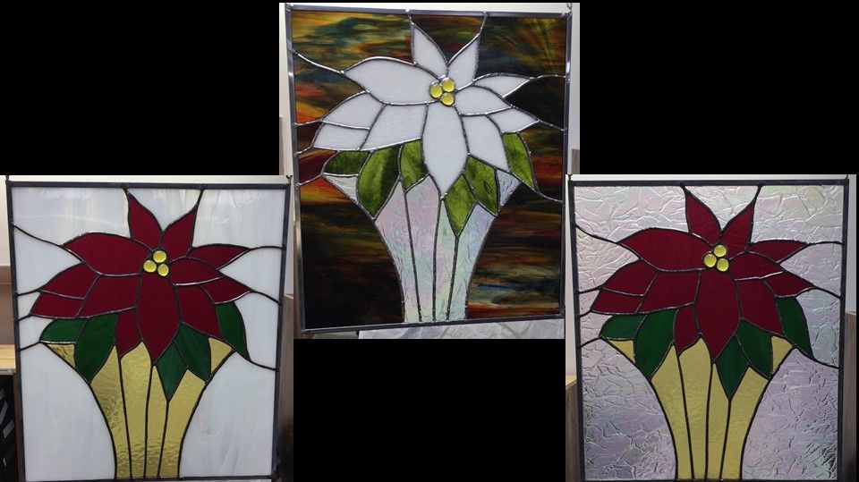 Poinsettia theme custom panels