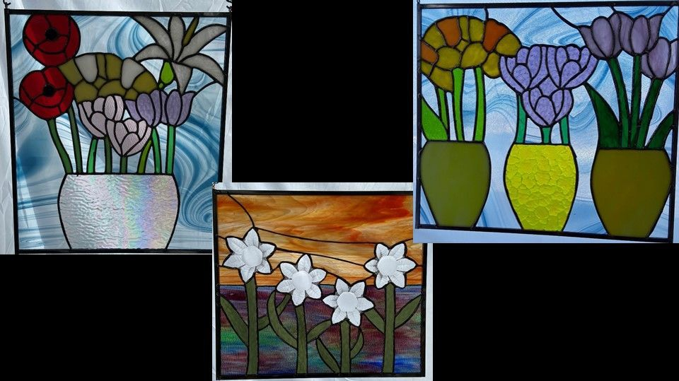 Spring Time flower theme custom panels