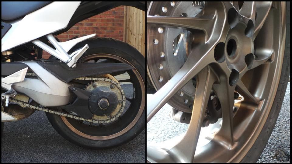 Motorbike detailing Milton Keynes