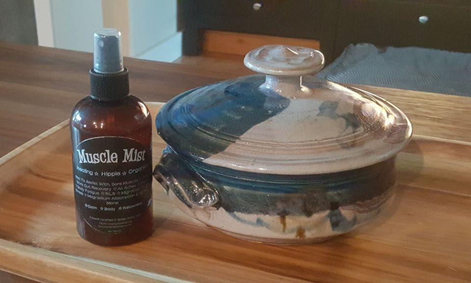 Muscle Mist, Healing Hippie Organics, Boise, Idaho, USA