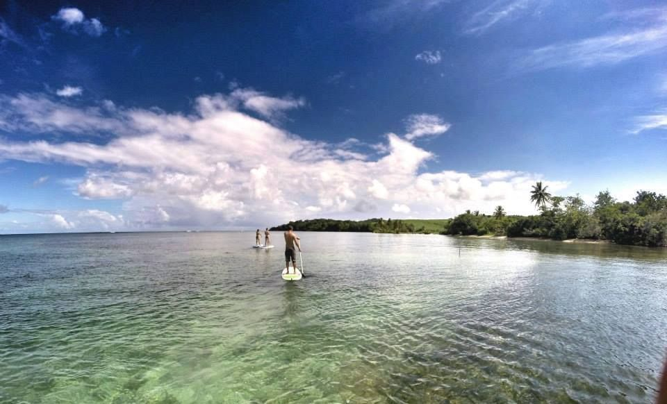 Stand up paddle, Martinique, Trinité, Surf up