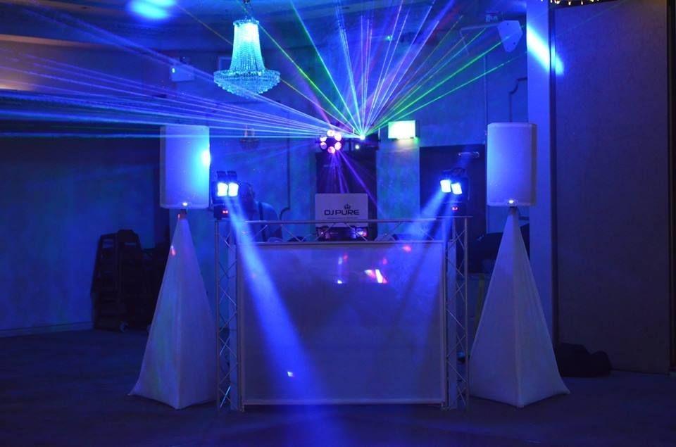 DJ PURE WEDDING DJS CRAIG Y NOS CASTLE
