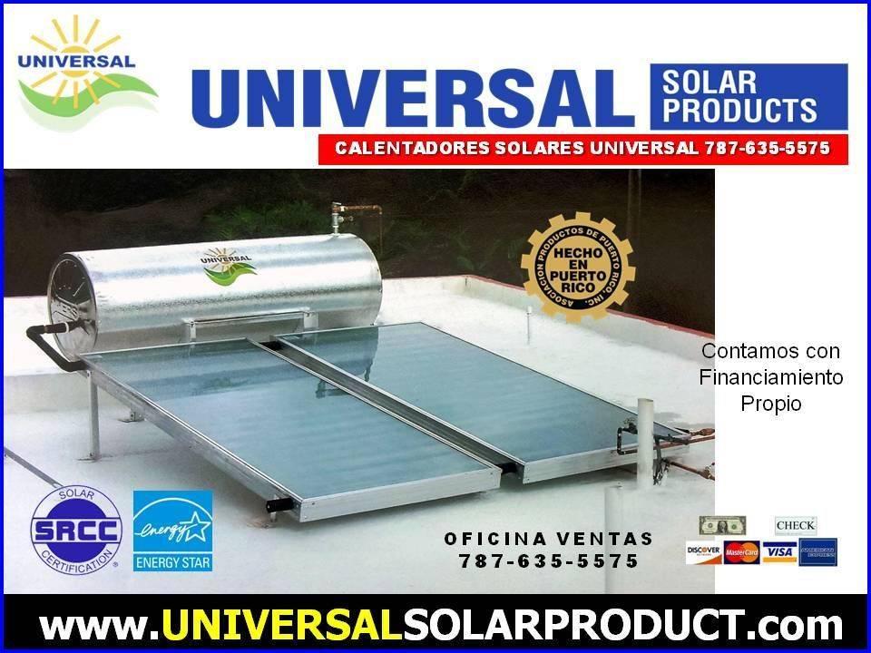 Calentador Solar Universal Puerto Rico