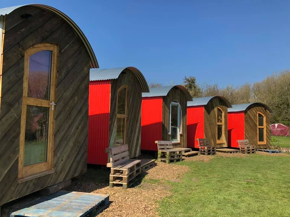 Yurt Camping and Glamping accommodation for your Wedding Guests