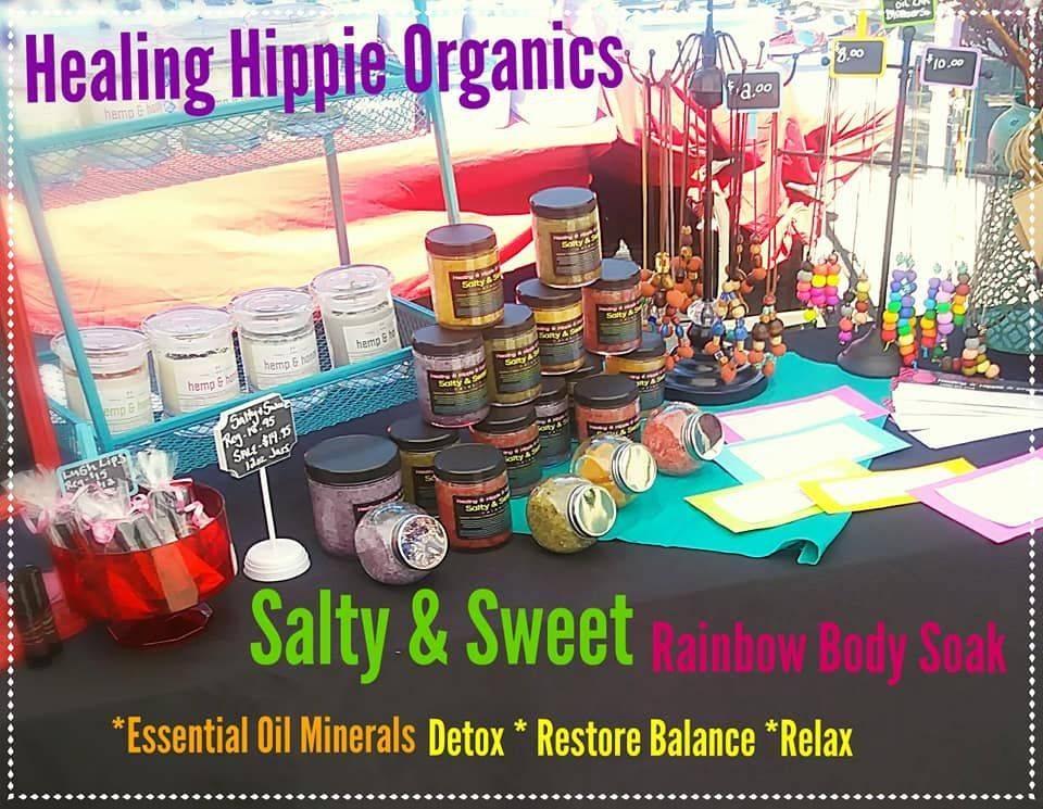 Healing Hippie Organics, Market, Boise, Idaho, USA