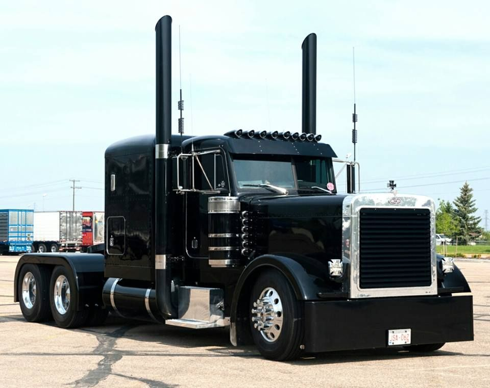 Truck, Trailer, Transport, Semi-Truck, Peterbilt, Freightliner, Volvo