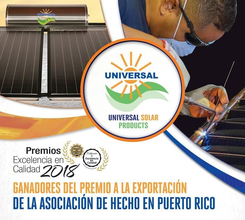 Calentadores Solares Premio Excelencia
