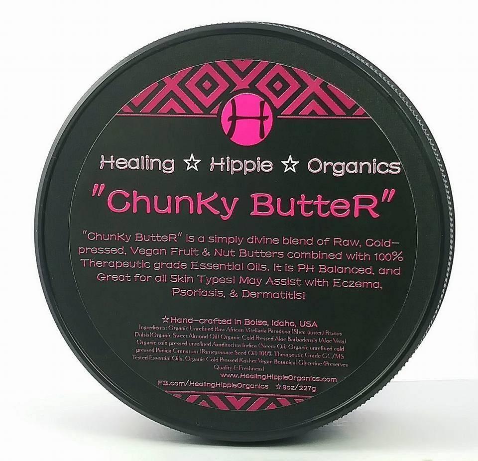 Chunky Butter, Healing Hippie Organics, Boise, Idaho, USA