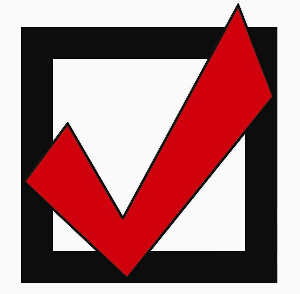 Check Construction logo is a red check mark in a black box