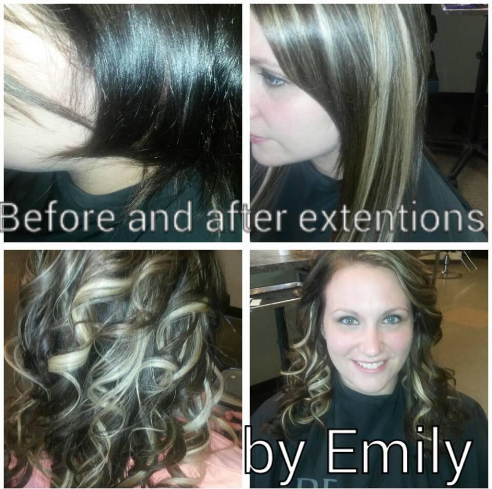 hair extensions, union town, pennsylvania