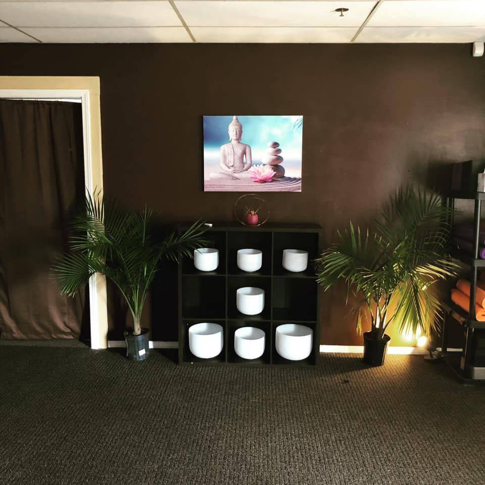 Sounds Bowls for our Yoga Studio