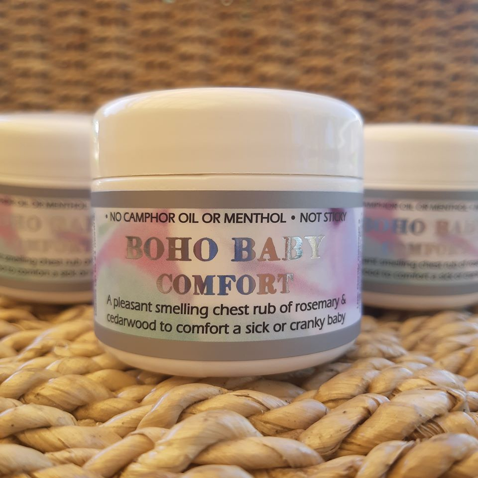 boho baby comfort vicks chest rub natural