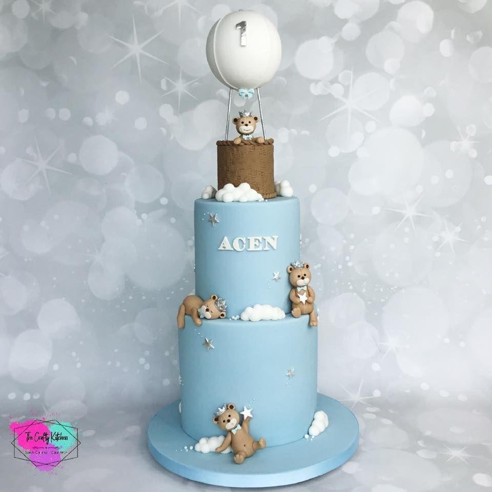 Bears Birthday Cake, Christening Cake