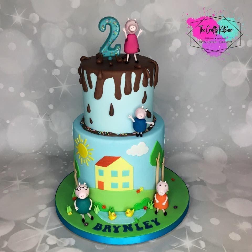 Character Birthday Cake, Peppa Pig