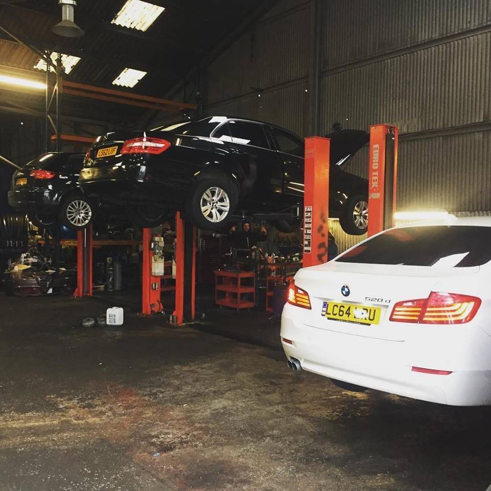 Our new garage - a nice place to get your car done at