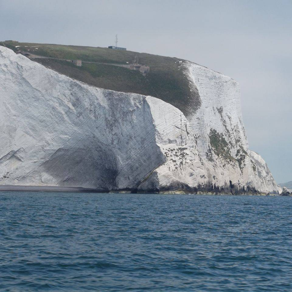 White cliffs at Scratchells bay, Isle of Wight