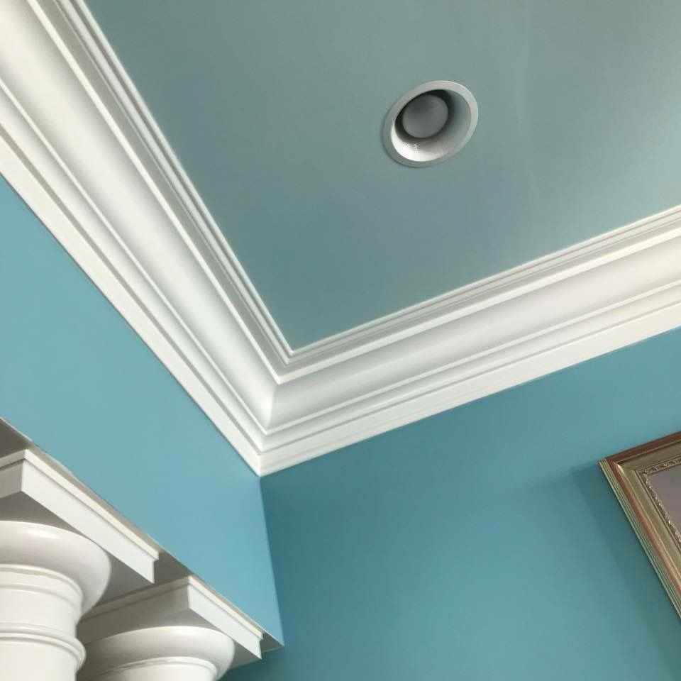 Leland, crown molding, interior painting, wilmington nc