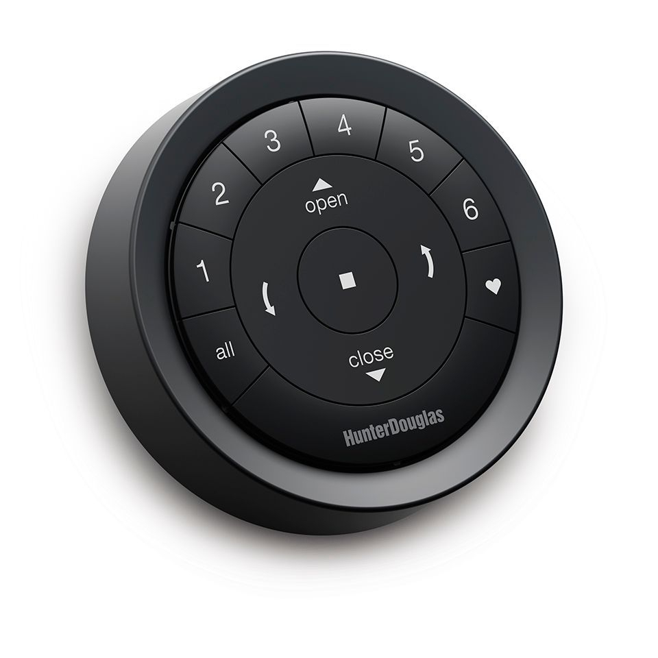 Black Matte Surface Remote