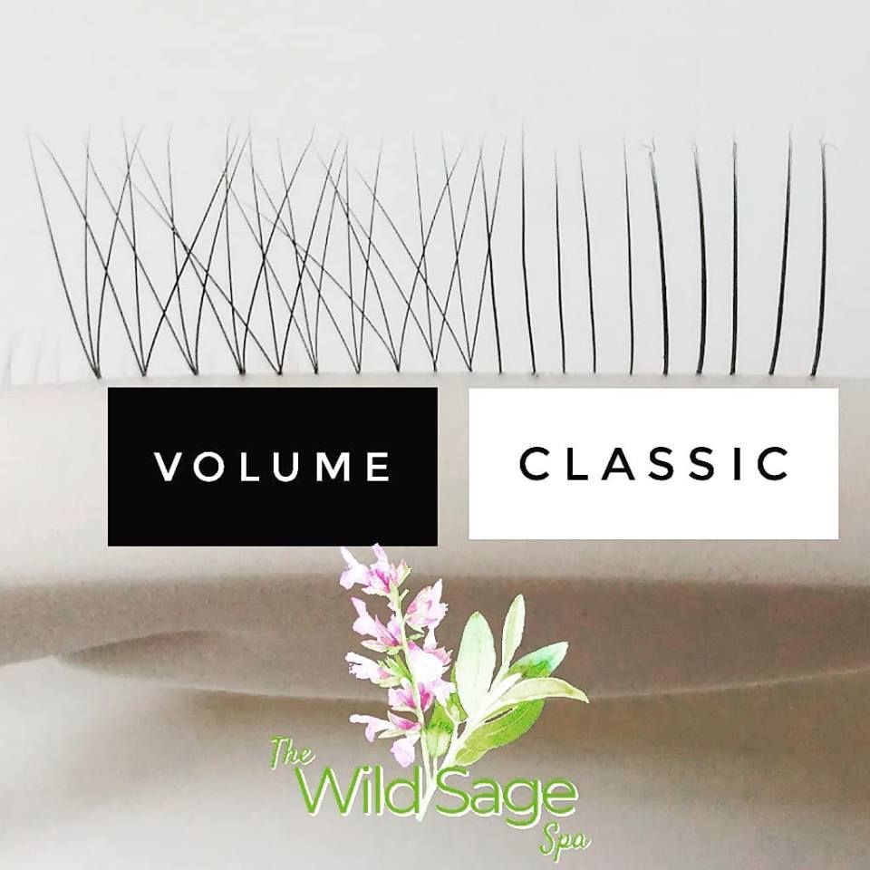 Volume Lash Extensions at The Wild Sage Spa