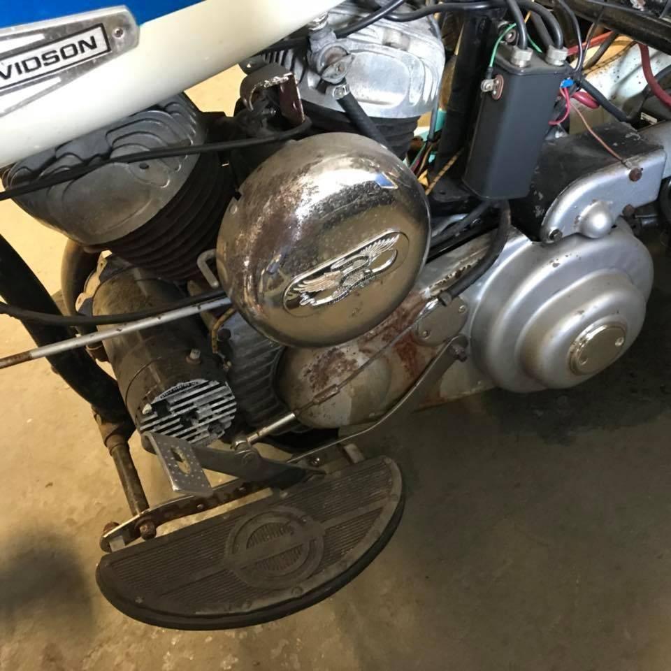 1947 Harley Davidson Servie car
