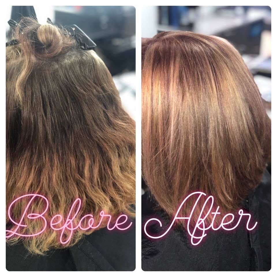 color correction, rose gold, color, highlight, lowlight