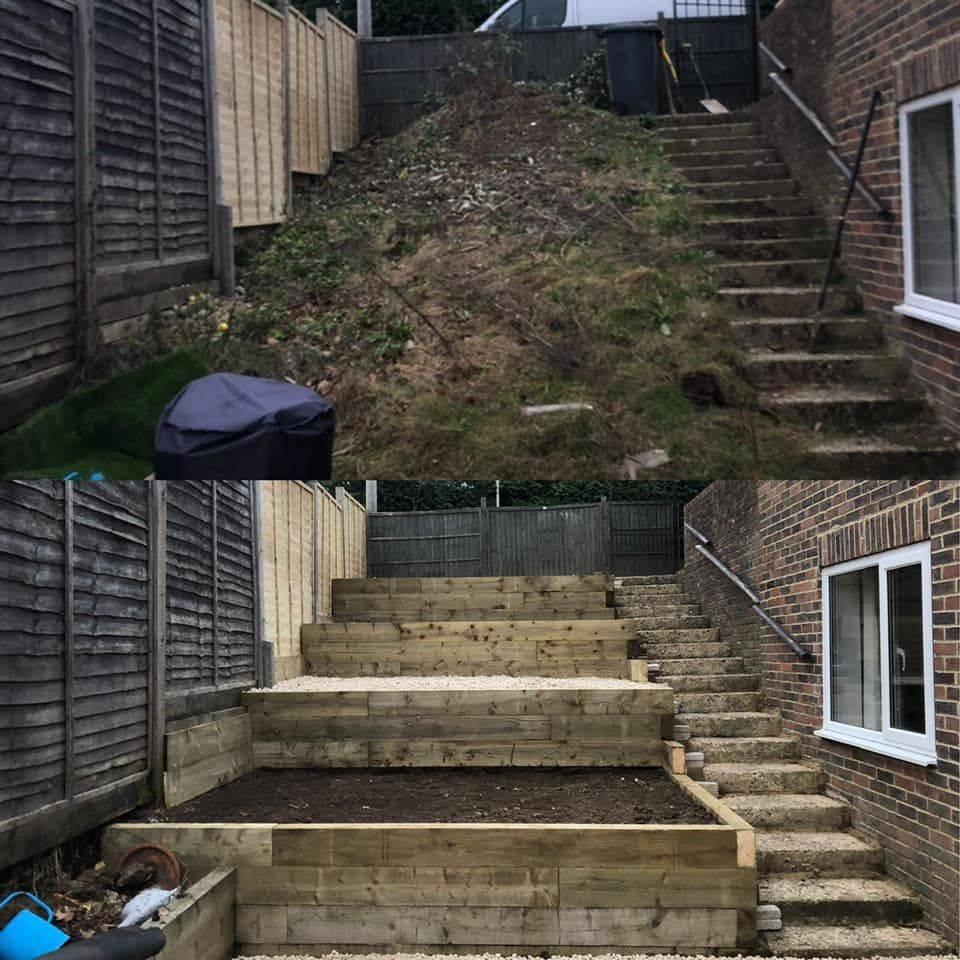 all trades hampshire, hampshire builder, hampshire landscape gardening