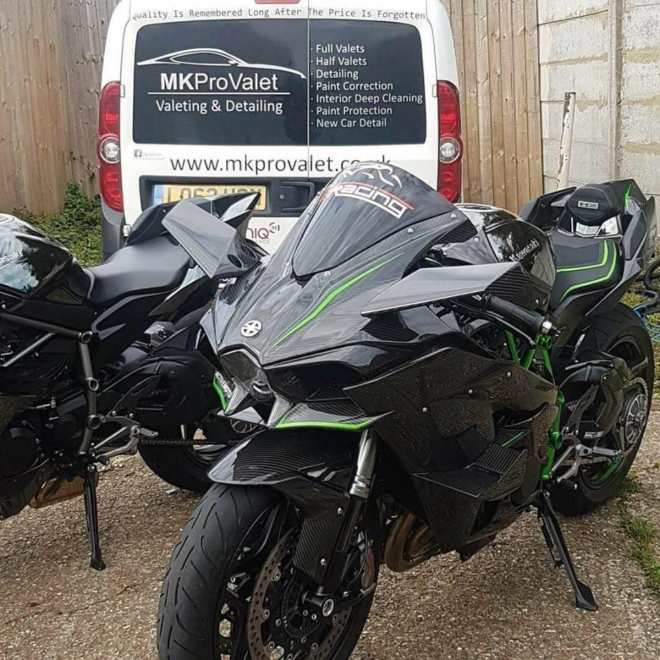 Motorbike detailing Bedfordshire