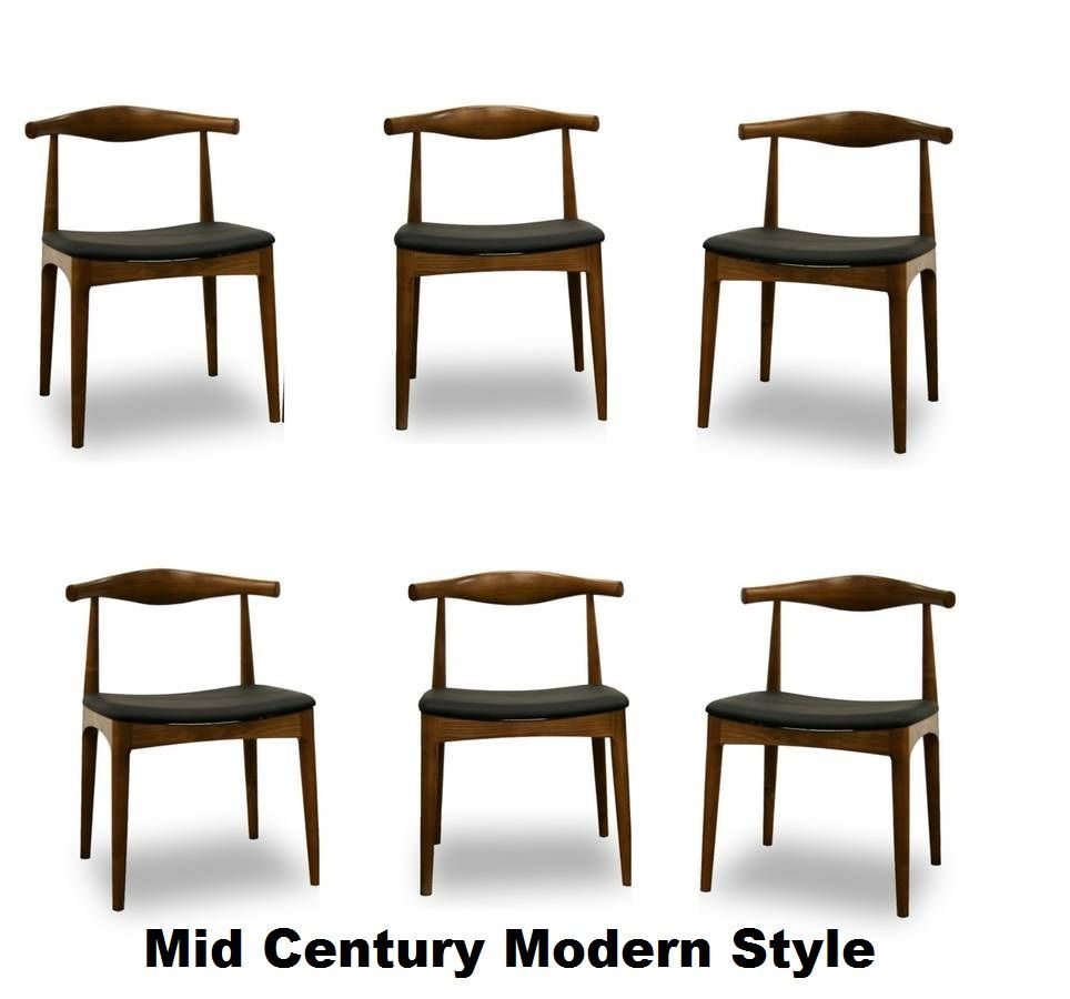 Hans Wegner Style, Side Chairs, Mid Century Modern, Eames Era, Vintage, Retro,Contemporary