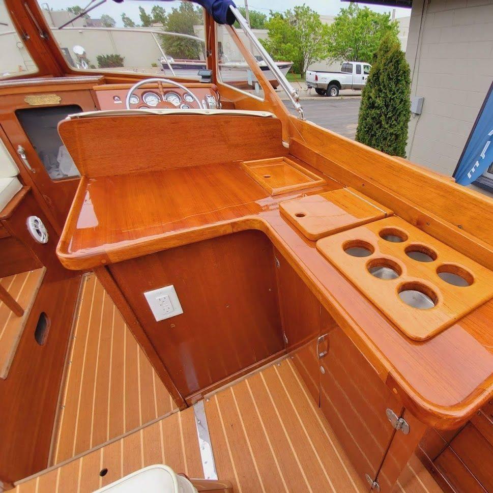 Lyman wood boat for sale lake geneva