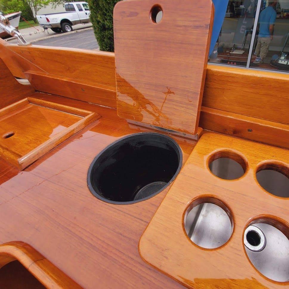 wood boat for sale lake geneva