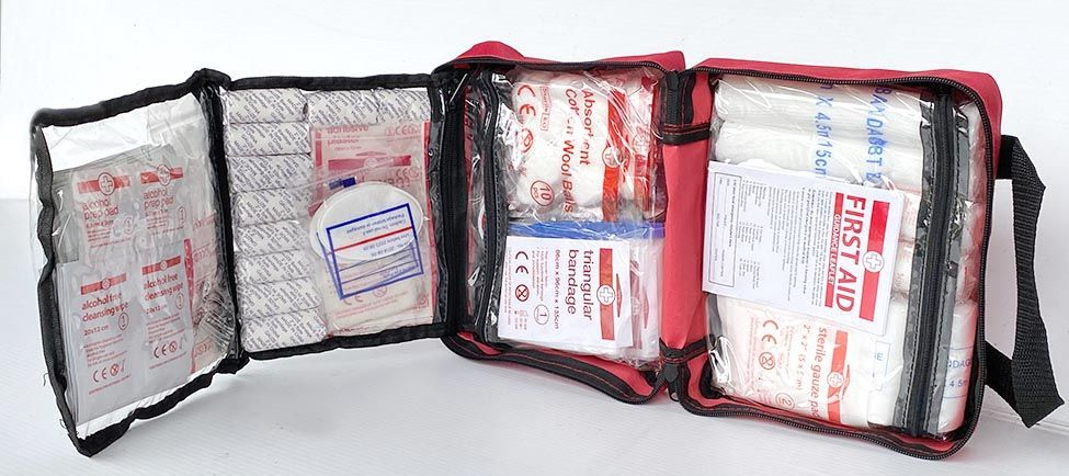 Essential for first aid for equestrian rider