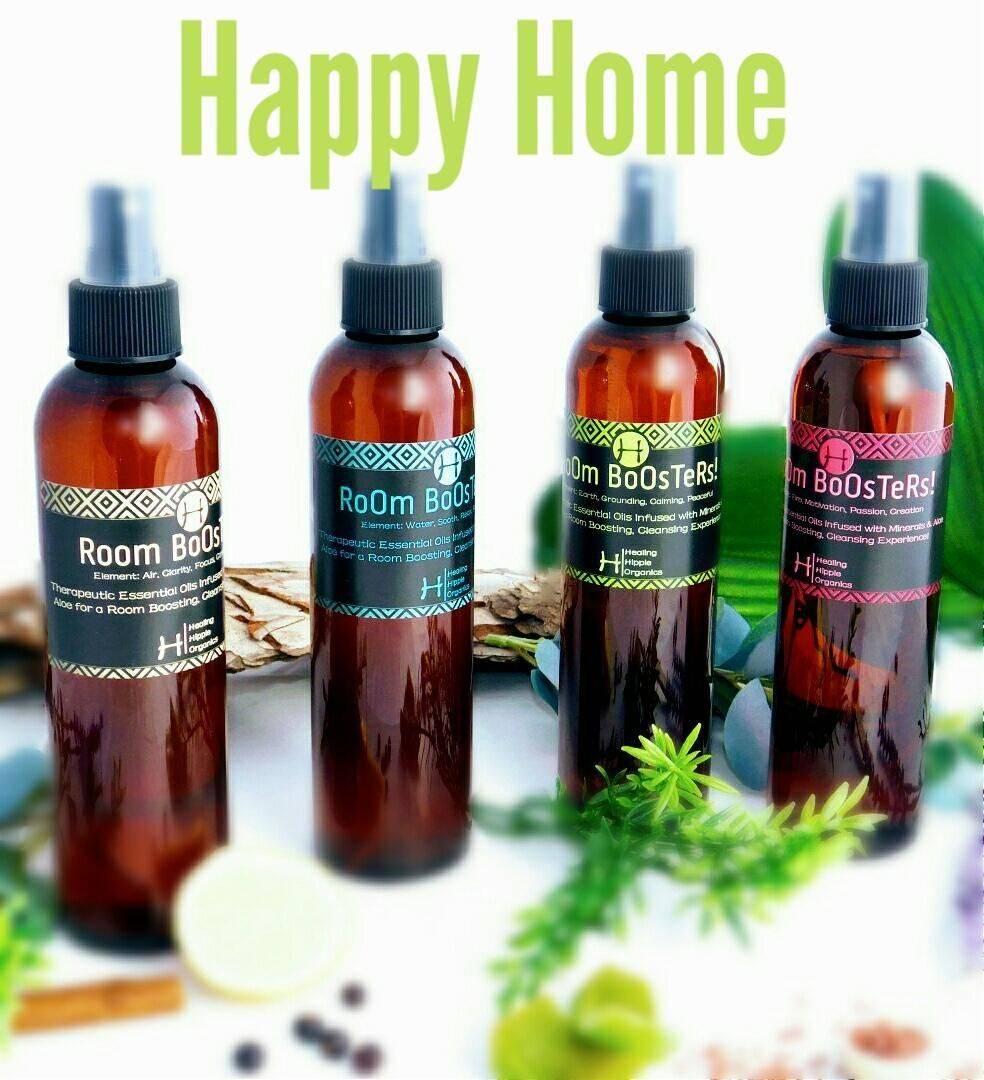 Happy Home, Healing Hippie Organics, Boise, Idaho, USA