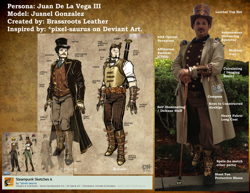 Steampunk Creation - Juan de la Vega III