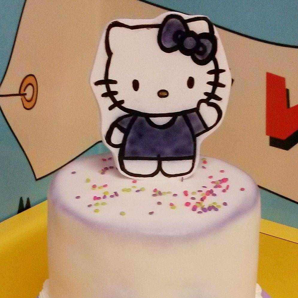 Custom Hello Kitty Cake  Milwaukee