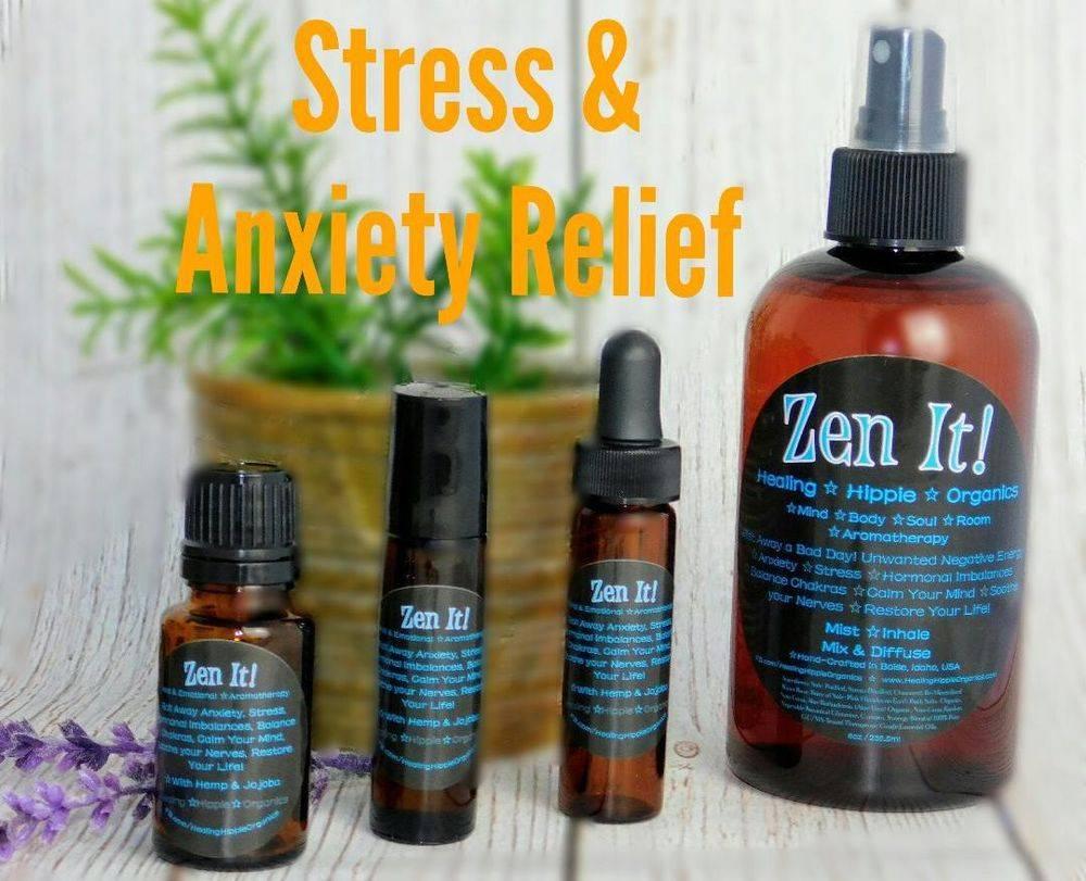 Anxiety Relief - Healing Hippie Organics, Boise, Idaho, USA