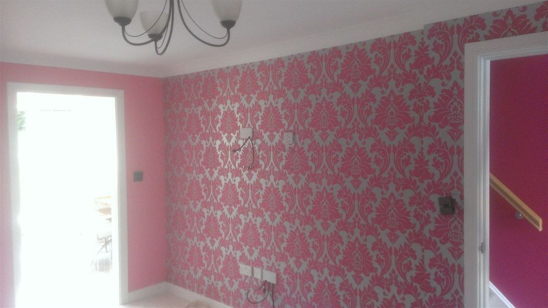 Wallpapered mural by Photowall