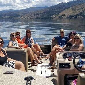 Cruise Okanagan Lake on your Kelowna Boat Tour.