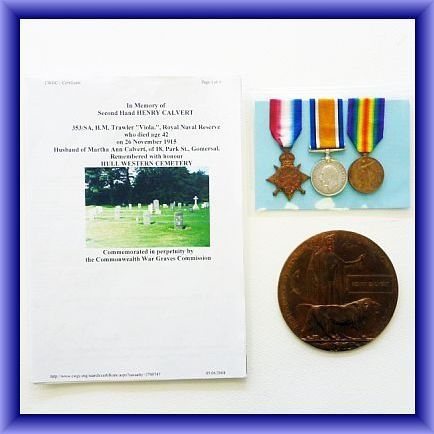 DEATH PLAQUE/WW2 MEDALS group of 7 to S.Dix (please contact us for more details)