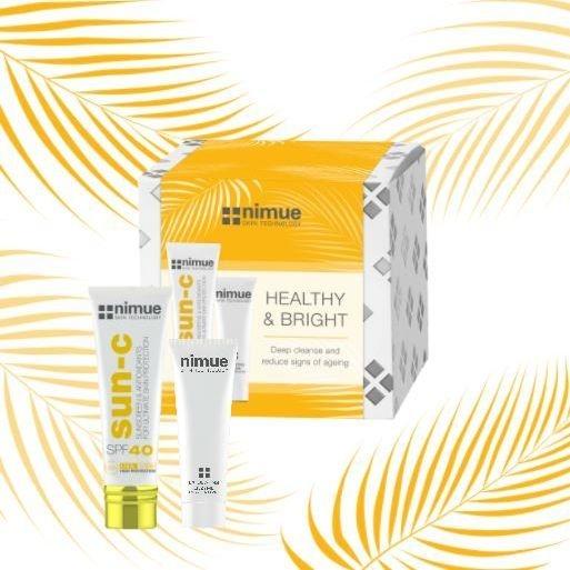 exfoliate, exfoliation, enzyme peel, SPF, sunscreen, SPF 40, Nimue, sunscreen