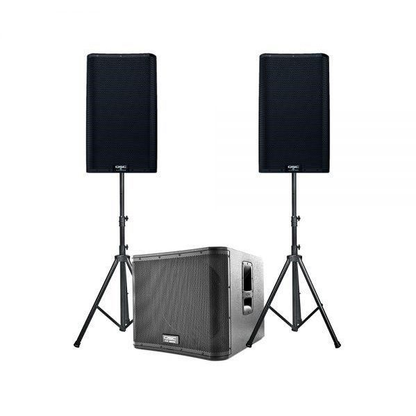 Small Powered Sound System with a Sub for rent